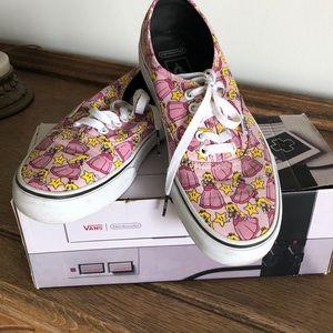 NINTENDO Princess Vans new in box!
